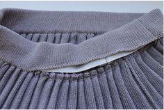 Мастер-класс: юбка плиссе на вязальной машине 5-го класса - Ярмарка Мастеров - ручная работа, handmade