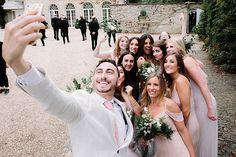 A Romantic English Country Garden Jew-ish Wedding at Northbrook Park, Surrey, UK - Smashing the Glass Northbrook Park, English Country Gardens, Bridesmaid Dresses, Wedding Dresses, Surrey, Great Photos, Wedding Blog, Real Weddings, Groom