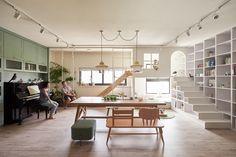 Un appartement où le design laisse la part belle à l'enfant - Le Baby Blog - Doctissimo