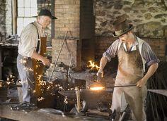 Blacksmithing       Loyd Heath Photography