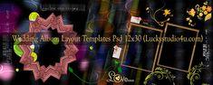 Wedding Album Layout Templates 12x30 Psd Files Download