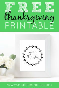 It's the season of gratitude. What are you thankful for? Grab this print for Thanksgiving or anytime of year! Printable Budget Sheets, Printable Coloring Sheets, Printable Stickers, Printable Planner, Printable Wall Art, Free Thanksgiving Printables, Diy Pins, Decorating Blogs, Diy Projects To Try