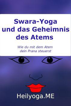 """""""umschalten lässt? Wichtig zu wissen es noch, sollte das Umschalten des Nasenlochs nicht möglich sein, dann ist das ein Hinweis für eine größere Störung im System. In dem Fall sollte man diesen Tag besonders vorsichtig sein, und nach Möglichkeiten nur solche Aktivitäten ausführen, die zur jeweiligen Nasenloch-Dominanz passen. Dazu gibt es unglaublich lange Listen, welche darüber Auskunft geben."""" Pranayama, Hormon Yoga, Stress, Bronchitis, Chakra, Meditation, Aktiv, New Moon, Joie De Vivre"""