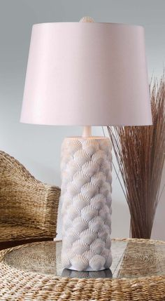 Shell Table Lamp | Kenroy Home | Home Gallery Stores