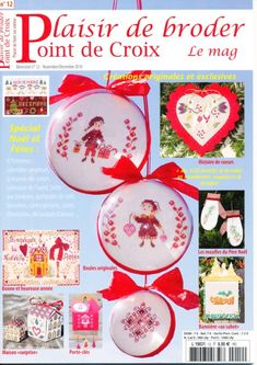 Gallery.ru / Фото #1 - 911 - Yra3raza Cross Stitch Magazines, Cross Stitch Books, Cross Stitch Christmas Ornaments, Needlepoint, Pattern, Crafts, Crossstitch, Diy, Hipster Stuff