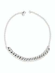 US$159 Sculpted Sterling Collar - Talbots