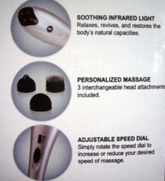 Handheld Percussion Massager Tapping Pro with Infrared Light US Jaclean, Inc. http://www.amazon.com/dp/B0045SRGZA/ref=cm_sw_r_pi_dp_BVYawb1JM7NAF