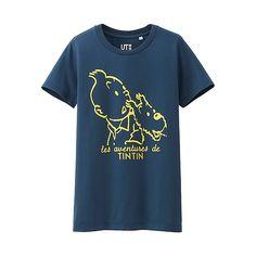 UNIQLO TINTIN UT / ¥990-