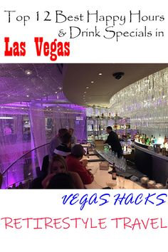 Top 12 best happy hours & cheapest drinks in Las Vegas. Vegas hacks for drinkers & money-saving tips. Where to go. Things to do. Vegas Vacation, Las Vegas Trip, Travel Vegas, Vegas Getaway, Las Vegas Hotels, Vacation Ideas, Happy Hour Specials, Drink Specials, Las Vegas Happy Hour