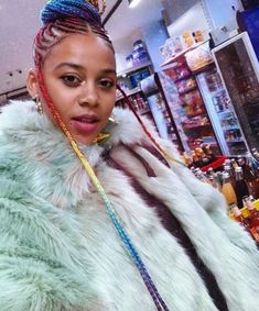 Sho-Madjozi Reality Tv Stars, African Beauty, Her Music, Black Media, Protective Styles, Comedians, Kim Kardashian, Braided Hairstyles, Braids