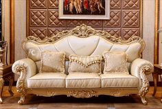 2018 Newest Foshan factory wholesale luxury furniture leather sectional sofa sets, View leather sofa, OE-FASHION Product Details from Foshan Oe-Fashio. Diy Furniture Plans, Farmhouse Furniture, Furniture Styles, Cheap Furniture, Shabby Chic Furniture, Rustic Furniture, Luxury Furniture, Furniture Makeover, Furniture Design