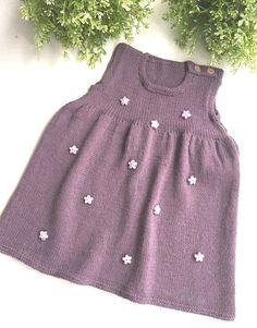 Color of lavender toddler dress baby dress girls dress wool