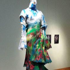 #panorama #jurk #kunst #modestudio #nootdorp #kledingopmaat #kleuradvies #modestudioincilors