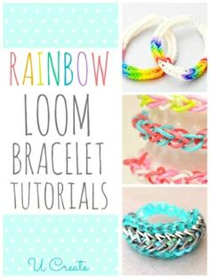 Lots of Rainbow Loom Bracelet Tutorials in one place!