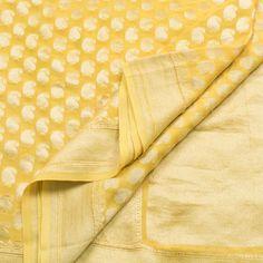 Shivangi Kasliwal Handwoven Banarasi Georgette Silk Sari 1002111 - Parisera