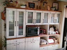 食器棚 リメイク diy | 完☆食器棚リメイク