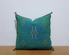 beautiful Moroccan handmade cactus silk pillow, decorative throw Pillow covers, Home Décor, CSP86