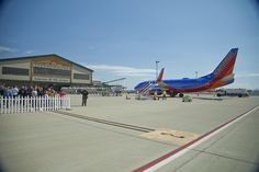 A beautiful sight indeed! Southwest Airlines offers service to and from beautiful Branson, Missouri! Check out www.flybranson.com to book now!