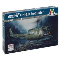 Italeri Bell UH1D Iroquois Model Kit -- Check this awesome product by going to the link at the image.Note:It is affiliate link to Amazon.