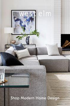 Home Living Room, Apartment Living, Living Room Decor, Living Spaces, Living Room Tv Unit Designs, Diy Bedroom Decor, Home Decor, Family Room, House