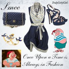 """""""Disney Style: Smee"""" by trulygirlygirl ❤ liked on Polyvore"""