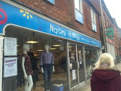 Naomi House, the charity shop in which I had to work