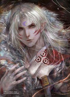 Anime Villians, Anime Characters, Anime Guys, Manga Anime, Anime Art, Anime Demon, Vampires, Inuyasha Funny, Inuyasha And Sesshomaru
