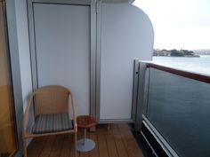Our balcony. Cuppa tea spot