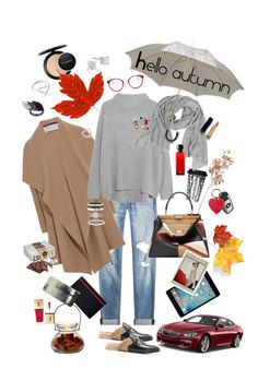 """Hello autumn"" by pankovayuliya on Polyvore featuring мода, rag & bone, Harris Wharf London, Crate and Barrel, Tiffany & Co., Dot & Bo, MAC Cosmetics, Gucci, Vince и Fendi"
