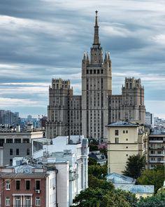 Москва с крыши задния ТАСС