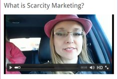 What is Scarcity Marketing? Well you will never know unless you pay my Knowledgeable business partner Alicia Stringer on her blog make sure to let her know what nuggets you got from her teachings!  http://aleciastringer.com/blog/what-is-scarcity-marketing