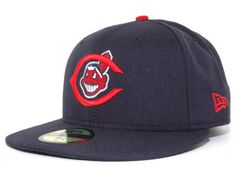 Cleveland Indians New Era MLB Cooperstown 59FIFTY Cap Hats