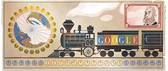 Sandford Fleming's Birthday- a Scots-Canadian (b. Kirkcaldy) who invented standard time zones Google Doodles, Standard Time Zones, Solar Time, Europe Day, The Inventors, Postage Stamps, Decoration, Happy Birthday, Birthday Gifts