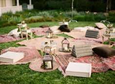 Pic nic wedding lounge.