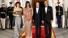 Stars Descend on White House for Obamas' Final State Dinner   feat. Prime Minister of Italy
