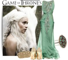 """Khaleesi"" by selmaamzi ❤ liked on Polyvore"