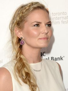 Jennifer Morrison is rocking a REALLY messy fishtail braid here—is it hot or a hot mess? http://beautyeditor.ca/2013/09/09/jennifer-morrison-is-rocking-a-really-messy-fishtail-braid-here-is-it-hot-or-a-hot-mess/