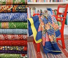 """kantha ralli quilts  http://www.ralliquilt.com/b...""""Ralli Quilts: Traditional Textiles from Pakistan and India"""" by Patricia Ormsby Stoddard is a beautiful book, filled with rich history and culture of the people who produce these masterpieces."""