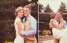 """My best friend got married"" Bride and Groom, Reiman Gardens, Ames, Iowa, ISU, Iowa State University, couple portraits, romantic, wedding day, formals, classic white lace dress,  © audrey tyler jones photography"