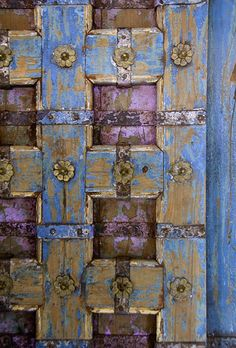 Gorgeous Door in New Orleans by janet little, via Flickr