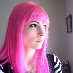Pink hair tutorial