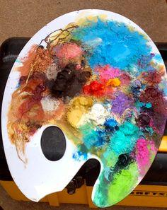 Painted Palette  @emmafogt