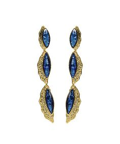 Take a look at this Blue Camella Shell Earrings by Amrita Singh on #zulily today $19 !!!