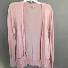Pink cardigan Pink, button-up, cardigan, long Old Navy Sweaters Cardigans