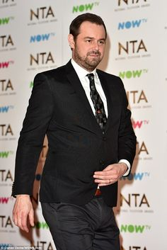 ' 'Tired and flustered' Danny Dyer was calmed by EastEnders colleagues as he tried to leave January's NTAs in newly released video obtained by The Sun Mick Carter, Just Go, Soaps, Actors & Actresses, Tired, Calm, Sun, Celebrities, Hand Soaps