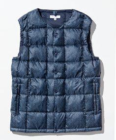 United Arrows - Down Vest Cool Gear, Down Vest, Moncler, Vest Jacket, Arrows, Factors, Boy Fashion, Menswear, Rock