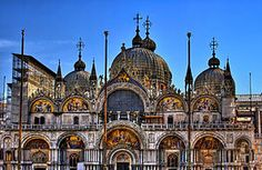 The Basilica di San Marco Places Ive Been, Places To Go, Cathedral Basilica, Vacation Memories, Sicily, Art And Architecture, Barcelona Cathedral, Taj Mahal, Images