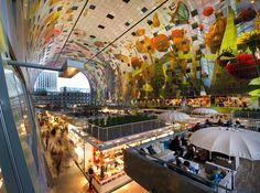 Mercado de Rotterdan - Holanda