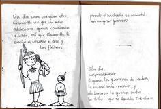 """""""El Indio de Buen Corazón"""" - Cuento PopUp Infantil: Alondon / Textos: Anabel Hoja 4"""