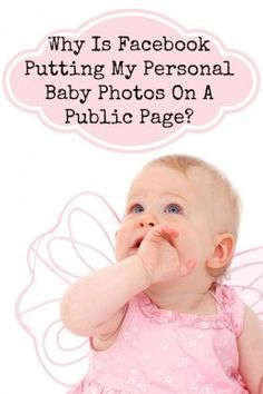 Why Is Facebook Stealing Baby Photos?